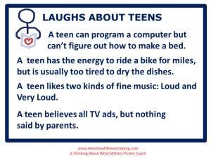 A teen