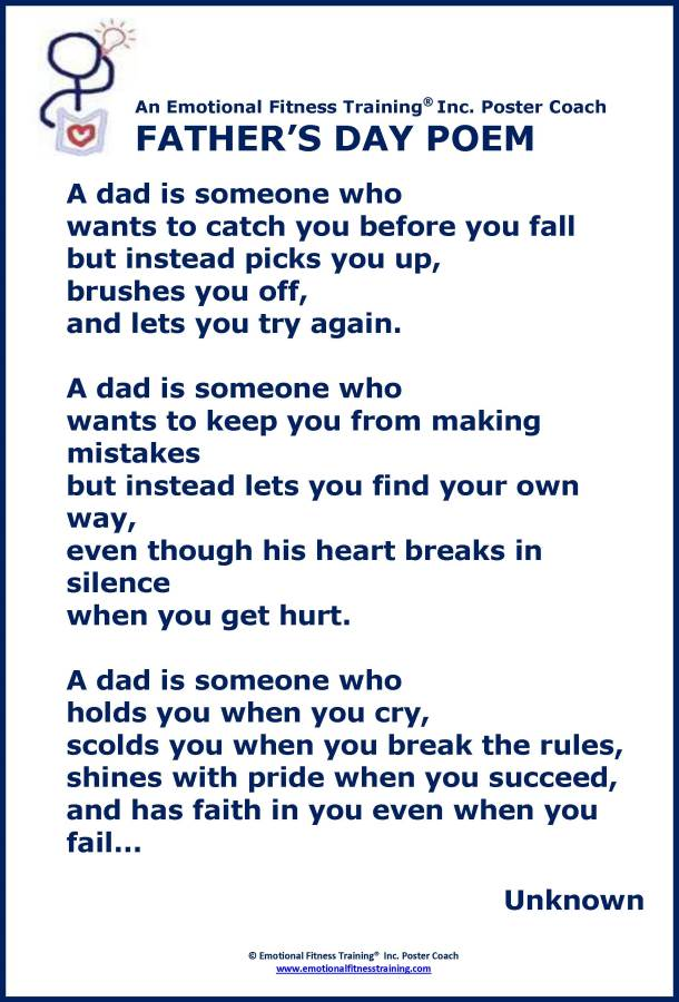 Advice about honoring dad on father s day