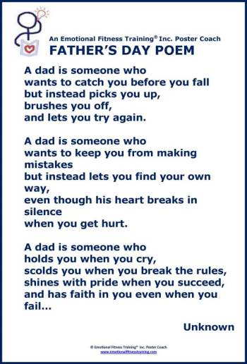Honoring Dad Poem
