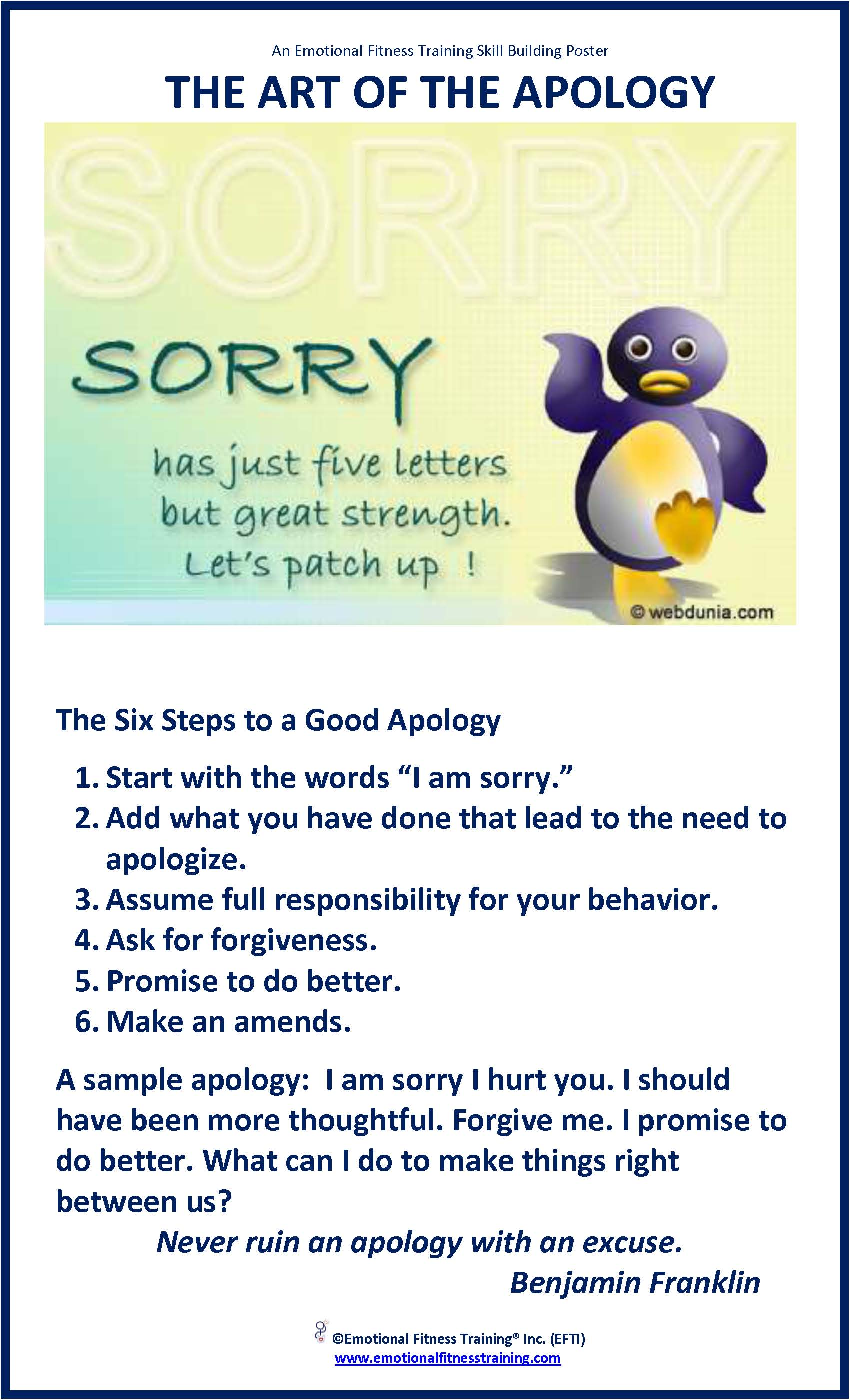 APOLOGIES HEALTHY FOR YOU AND YOUR CHILD – Sample Apology Letter to Parents