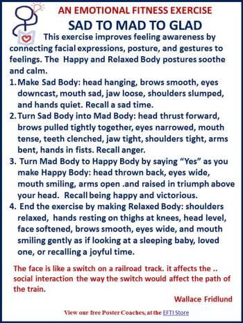 Body language exercise.