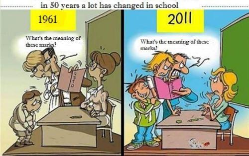 Kids in 1951, kids now. #cartoon
