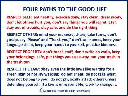 Paths to the good life